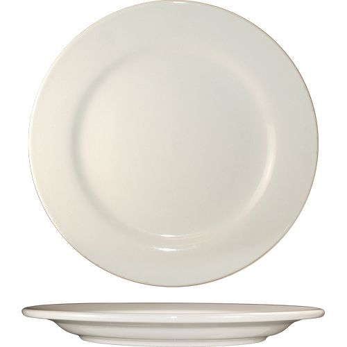 "International Tableware RO-20 American White 11"" Plate - 12 / CS"