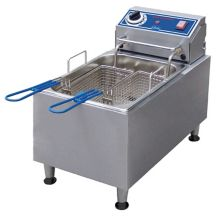 Globe Food PF10E Countertop 120v Electric 10-LB Oil Capacity Fryer