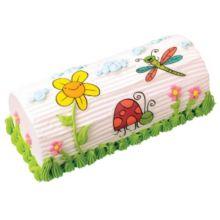 Lucks™ 45775 Edible Image Garden Critter Embellishments - 8 / BX