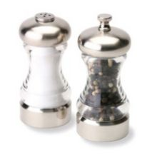 "Olde Thompson 5004-00 Monterey 4-1/2"" Pepper Mill / Salt Shaker Set"