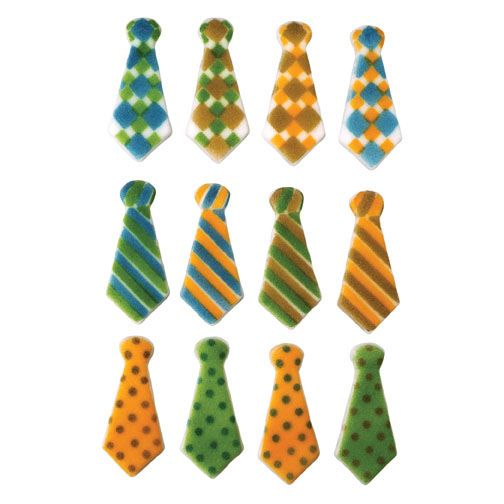 Lucks™ 48135 Dec-Ons® Tie Assortment - 120 / BX