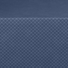 "Marko 582360UM011 Designer Series 60"" Navy Diamond Head Tablecloth"