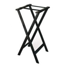 CSL 1500BLK Black Plastic Folding Tray Stand