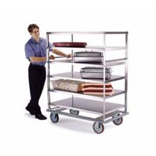 Lakeside® 583 S/S Tough Transport 1000 Lb. Cap 4 Shelf Banquet Cart