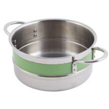 Bon Chef 62301NC LIME 3.3 Qt. Single Wall Pot with Handles