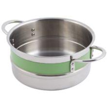 Bon Chef 62302NC LIME 4.3 Qt. Single Wall Pot with Handles