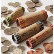Block & Company 116S201A07 Red Penny Cartridge Coin Wrappers