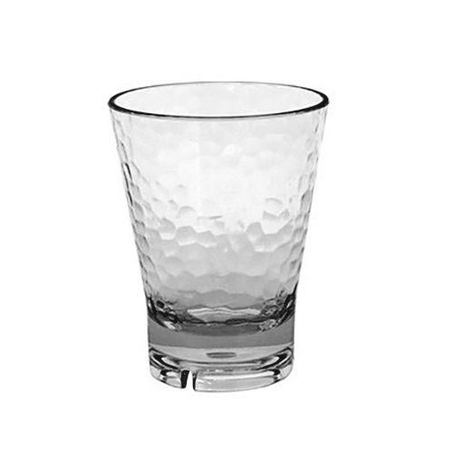FOH ADO006CLT23 Drinkwise® 10 Ounce Hammered Rocks Glass - 12 / CS