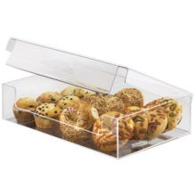 "Cal-Mil 1478 Clear 19"" x 13"" Pastry Bin Display"