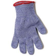 "San Jamar® SG10-BL-M Blue 11"" Medium Cut Resistant Glove"