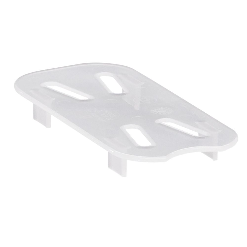 Cambro® 90PPD190 Clear High Heat Drain Shelf for 1/9 Size Food Pan
