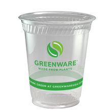 Fabri-Kal 9509208.05 Greenware 14 Ounce Compostable Cup - 1000 / CS