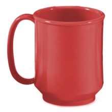 G.E.T.® SN-104-RSP Red Sensation 8 Ounce Handled Mug - 24 / CS