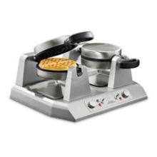 Waring® WW250B Double Side-By-Side 208V Belgian Waffle Maker
