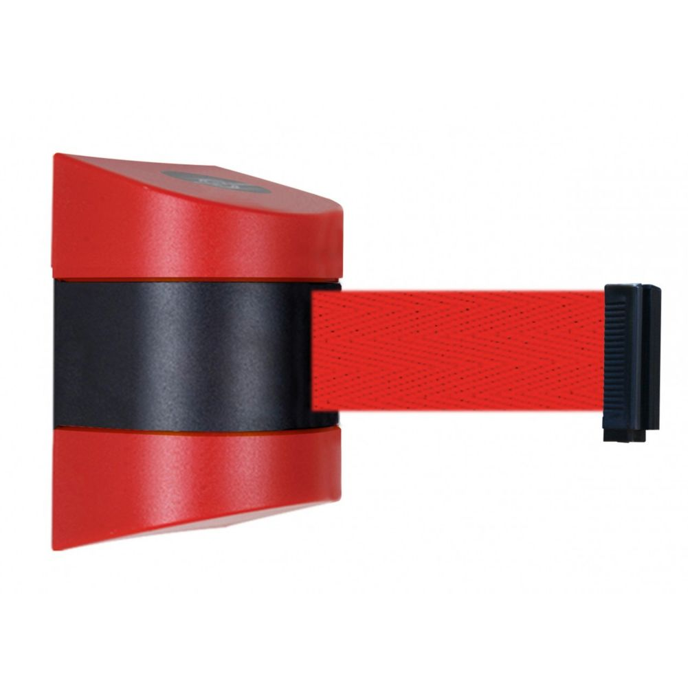 Tensator 897EHC RED Retractable Wall Mount Tensabarrier