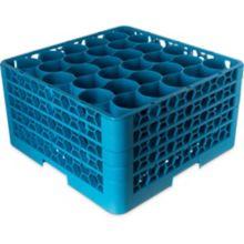 Carlisle® RW30-214 OptiClean NeWave 30 Compartment Blue Glass Rack