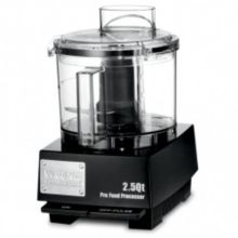 Waring® Commercial WFP11SW 120V 2.5 Qt. Flat Cover Food Processor