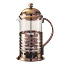 Service Ideas™ T877BRNZ Bronze 1 Liter Brick French Coffee Press