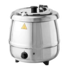Tomlinson® 1021806 Glenray® 10.5 Qt. Stainless Soup Kettle