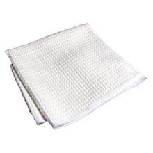 "DayMark® 115069 White 14 x 16"" Microfiber Bar Towel - 12 / PK"