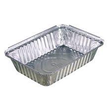 Pactiv Y78830 Oblong 2.25 Lb. Aluminum Foil Pan - 400 / CS