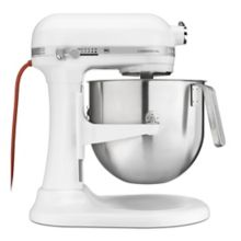 KitchenAid® KSM8990WH 1.3 HP 8 Qt. Commercial Mixer with S/S Bowl