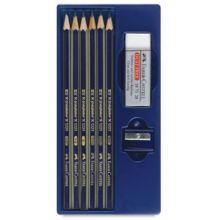 Graphite Goldfarber Sketching Pencil Set