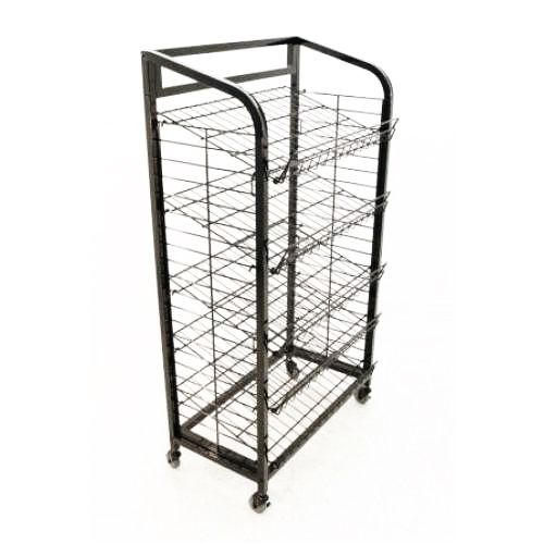 Mobile Merchandisers® B3051-B 5-Shelf Wire Display Rack