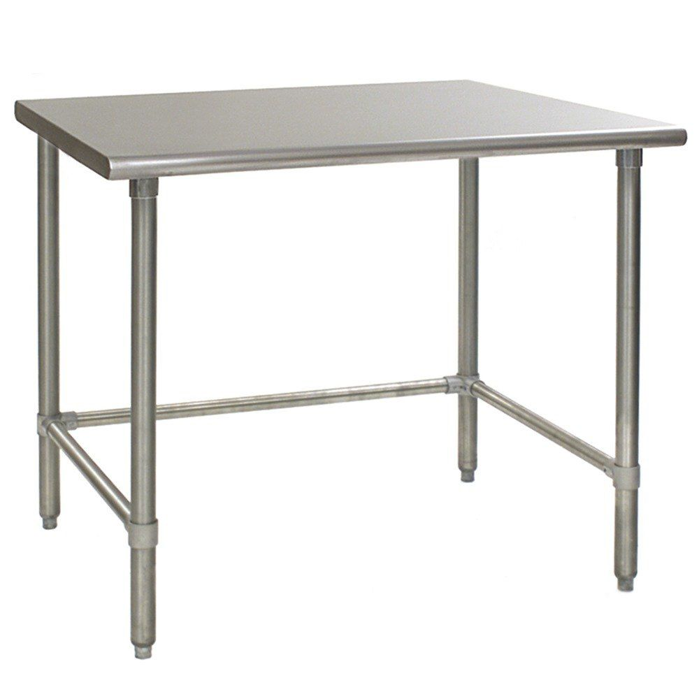 "Eagle® T3060STB Heavy-Duty S/S 60"" x 30"" Work Table"