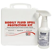DayMark 114708 Refillable Bodily Fluid Spill Kit With 16 Oz. Sanizide