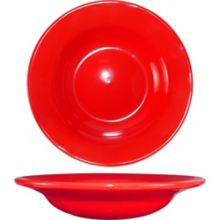 International Tableware CA-3-CR Cancun Red 12 Oz. Soup Bowl - 24 / CS