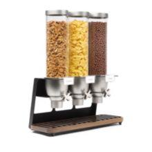 Rosseto® EZ520 EZ-Serv® Walnut Triple Dispenser