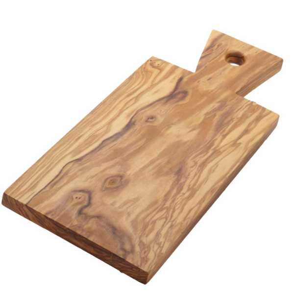 American Metalcraft OWB117 Olive Wood 12.75 x 5.75 Inch Serving Board