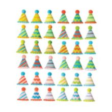 Lucks™ 48138 Small Party Hats Dec-On - 160 / BX