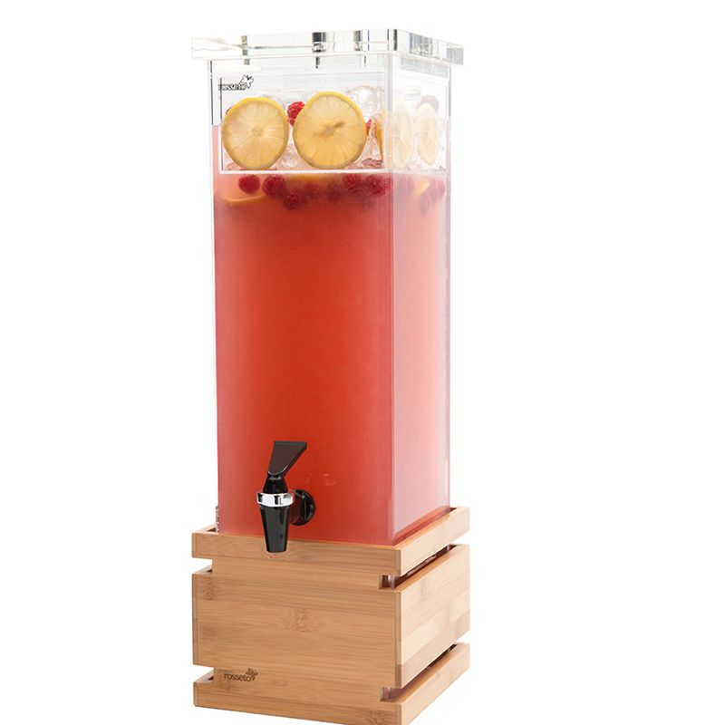 Rosseto® LD112 Square 2-Gallon Beverage Dispenser