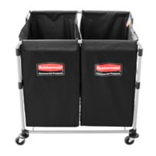 Rubbermaid® 1881781 Collapsible Multi-Stream 8 Bushel X-Cart