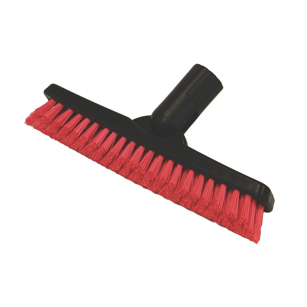 "O-Cedar® 96175 Red / Black 9"" Grout Brush"