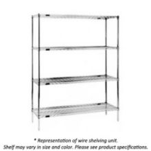 "Eagle® Foodservice 1842VG 42"" L x 18"" W Wire Shelf"