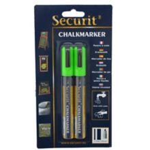 American Metalcraft BLSMA510GR Green Thin Chalk Marker - 2 / PK