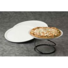 "American Metalcraft CERAM18 Undecorated Ceramic 18"" Pizza Tray"