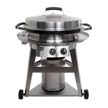 "Evo® 10-0081 Gas Fired 30"" Circular Display Cooking Station"