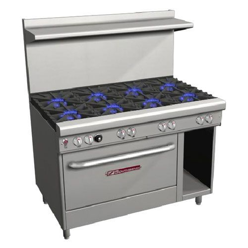 "Southbend 4481DC Ultimate 48"" 8 Burner Natural Gas Range"