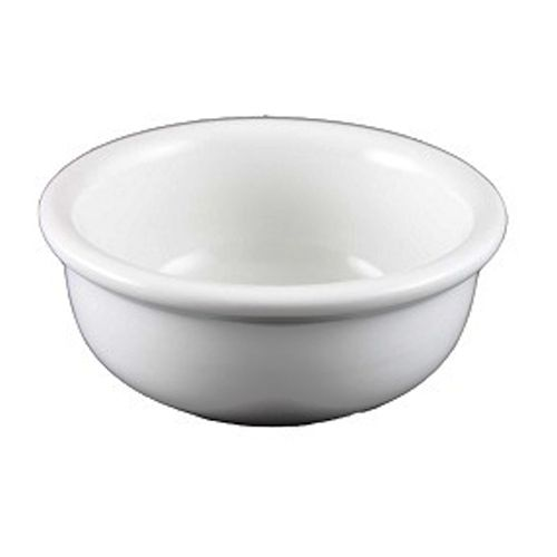 Vertex® China ARG-69 Bright White Argyle 6 Oz. Ramekin - 36 / CS