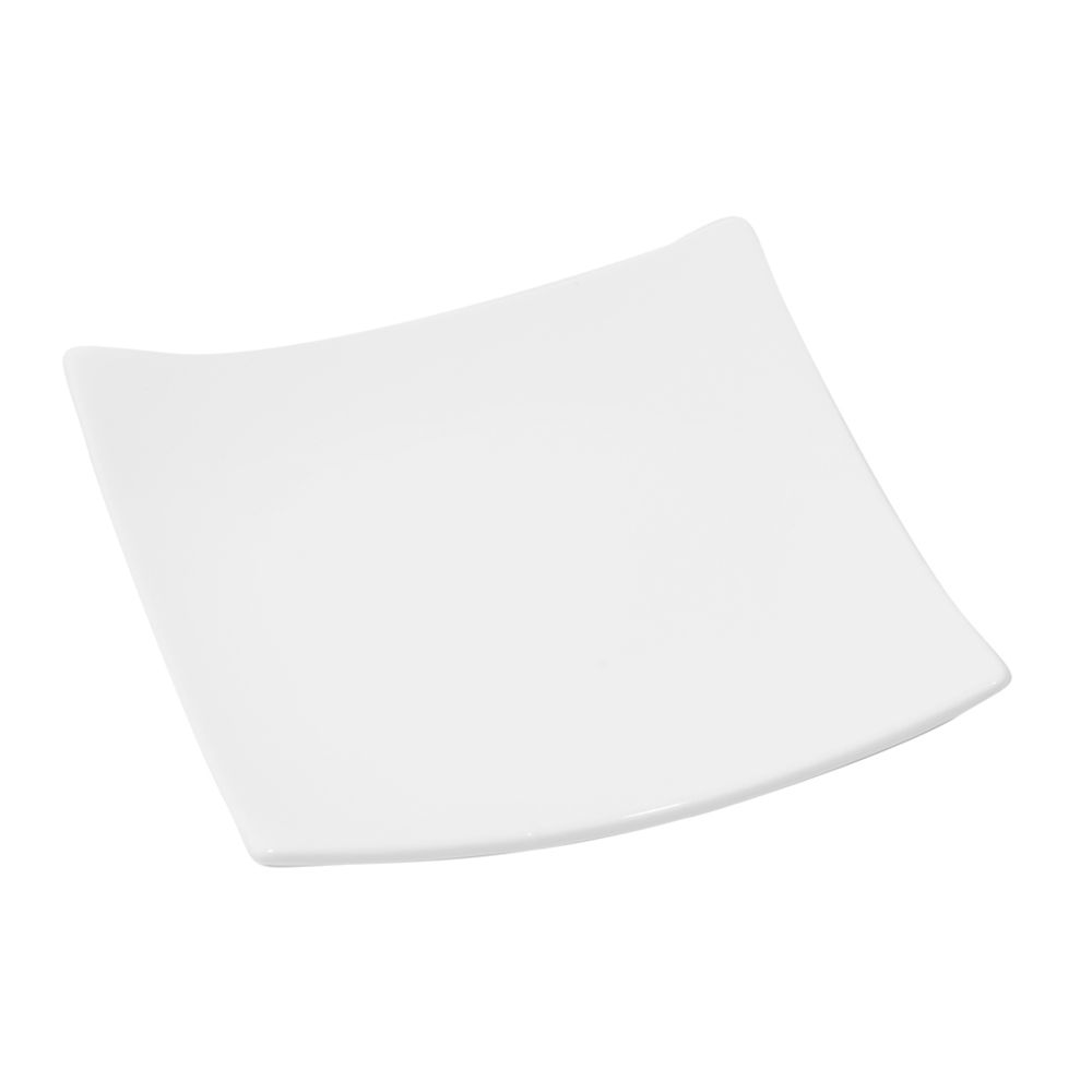 "Korin Japanese Trading PLY-A1404 Fusion White 6.5"" Square Plate"
