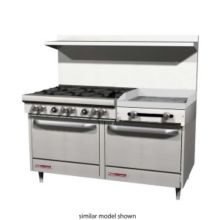 Southbend S60DD-2G S-Series Natural Gas 6-Burner Range with Griddle