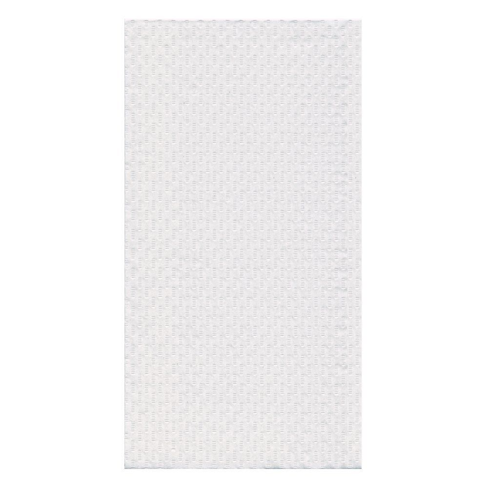 "Hoffmaster® 702048 13"" x 7"" White 2 Ply Guest Towel - 1000 / CS"