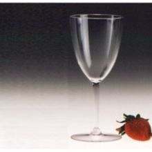 Encore Plastics 70010 C Clear 10 Oz. Tokay Wine Glass - 36 / CS