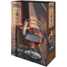 Libbey® 8405S4 4 Piece Perfect Cognac 12 Ounce Glass Set