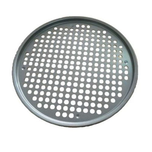 1 Source ICW-CS02 Alum. Round Pizza Tray with Hole Tabs - 24 / CS