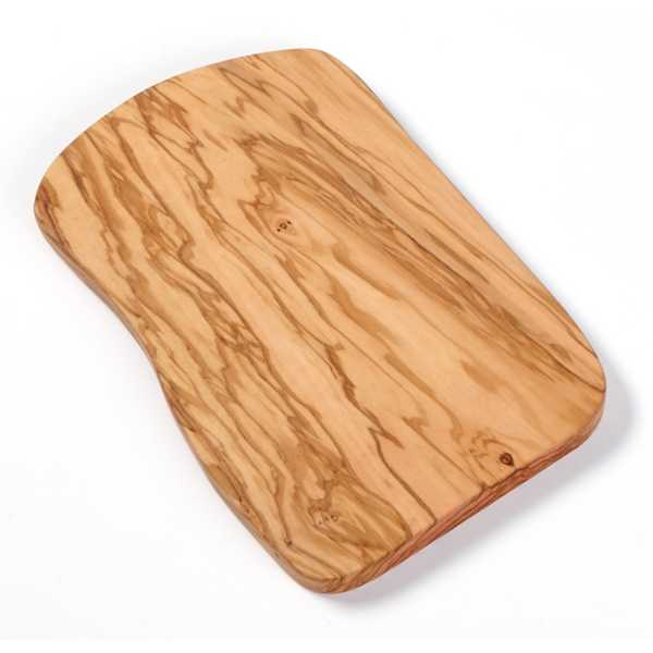 American Metalcraft Olive Wood 12 x 9 Inch Serving Board